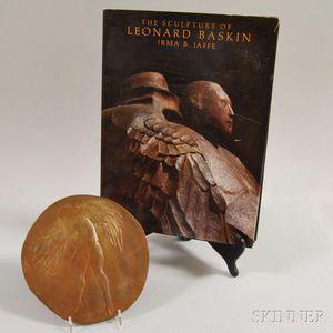 Leonard Baskin (American, 1922-2000)    Icarus