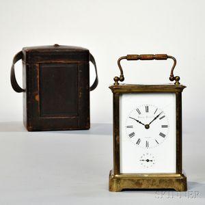 Hour Strike Carriage Clock