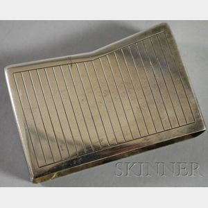 Georg Jensen Sterling Silver Deck of Playing Cards Sleeve