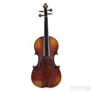 French Violin, Marc Laberte Workshop, Mirecourt