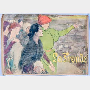 Clementine Helene Dufao La Fronde   Poster
