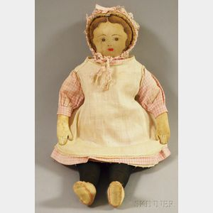 Moravian Cloth Doll