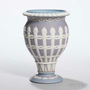 Wedgwood Tricolor Jasper Dip Torches Vase