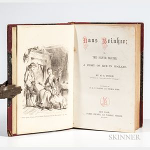 Dodge, Mary Elizabeth Mapes (1831-1905) Hans Brinker; or, the Silver Skates. A Story of Life in Holland.