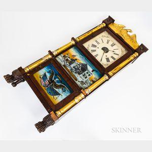 Triple-decker Shelf Clock