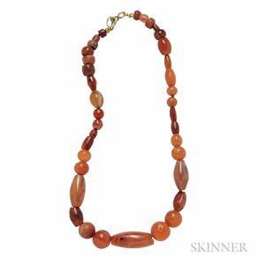 Four Ancient Bead Necklaces