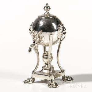 Sterling Silver Miniature Hot Water Urn