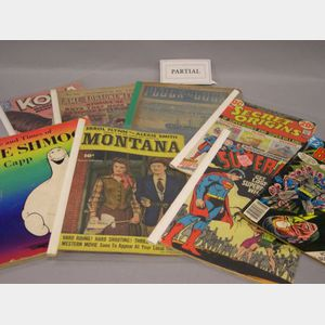 Collection of 1950s-1980s Comic Books