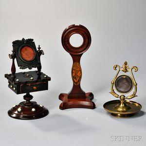Three Watch Holders