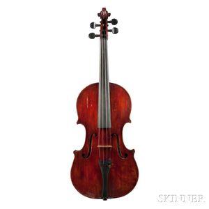 American Violin, Frederic G. Vallance, Detroit, c. 1920