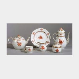 Herend Porcelain Partial Luncheon Service