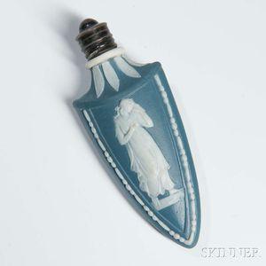 Blue Jasper Arrowhead   Scent Bottle