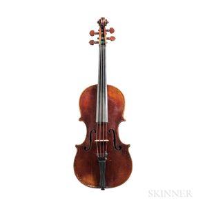 Italian Violin, Carlo Broschi, Parma, 1731