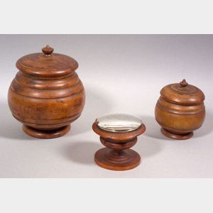 Three Treen Items