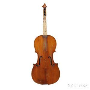 French Violin, 19th Century