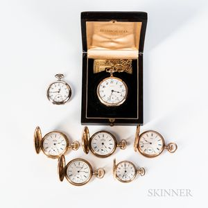 Seven Pocket Watches