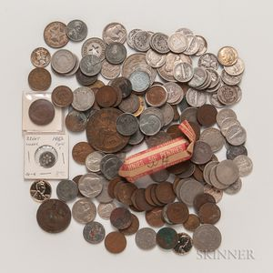 Group of American and World Coins