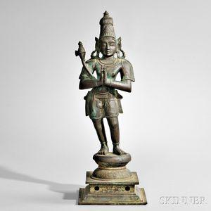 Bronze Figure of Chandikeshvara