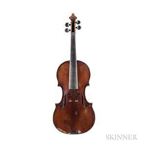 French Violin, Nicolas Simoutre, c. 1875