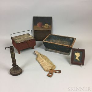 Small Group of Decorative Items.