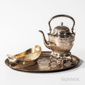Three Pieces of Swedish Silver Tableware