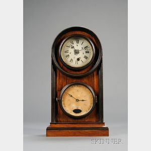 Rosewood Calendar Clock by Welch Spring & Company