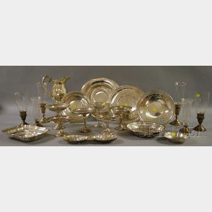 Group of Silver and Silver-plated Tablewares