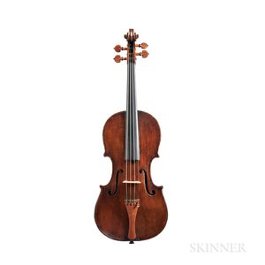 Italian Violin, Ventapane School, c. 1830
