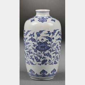 Sold for: $44,438 - Porcelain Vase