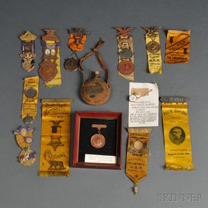 Group of G.A.R. Medals