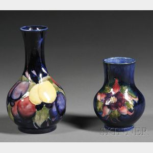 Two Moorcroft Pottery Vases