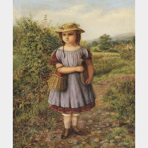 Augustus Jules Bouvier (British, 1827-1881)      Off to School