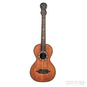 Romantic Parlor Guitar, 19th Century