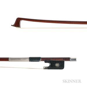 Silver-mounted Violin Bow, Workshop of Victor Fetique