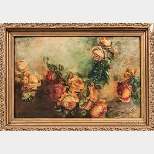 Georges Jeannin (French, 1841-1925)    Still Life with Roses