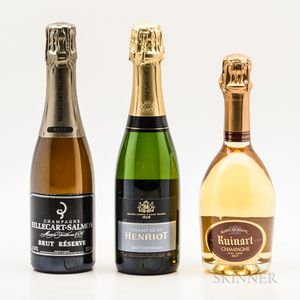 Picnic Champagne, 3 demi bottles