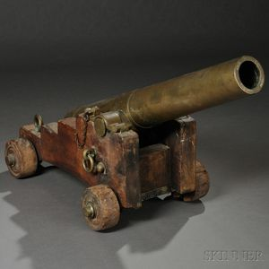 Ames Naval Boat Gun and Carriage