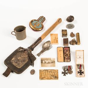Group of WWI German Items
