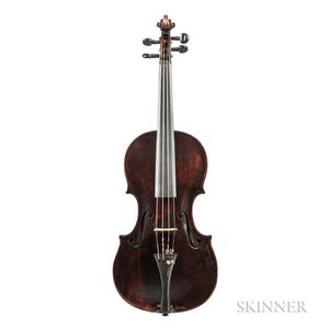 German Violin, David Hofman, Klingenthal, c. 1814