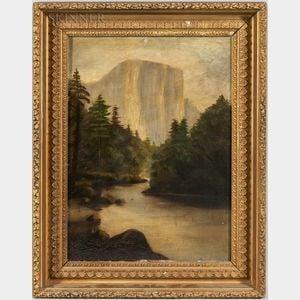 American School, 19th Century      Yosemite View