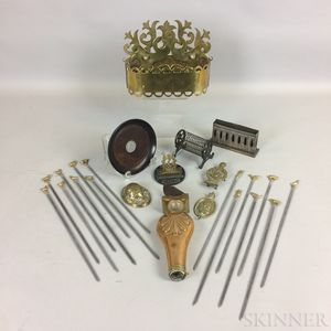 Small Group of Mostly Brass Items