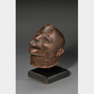 African Carved Wood Headdress