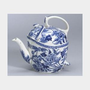 Wedgwood Queen's Ware SYP Teapot and Cover