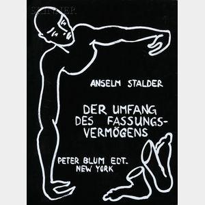 Anselm Stalder (Swiss, b. 1956)      DER UMFANG DES FASSUNGSVERMÖGENS (THE LIMITS OF PERCEPTION)