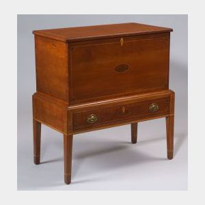 Cherry Inlaid Sugar Chest