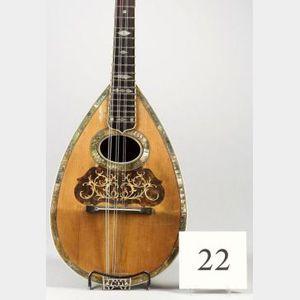 American  Mandolin, A.C. Fairbanks Company, Boston, c. 1910, Model Regent