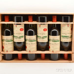 Chateau Pavie 1982, 12 bottles (owc)