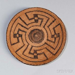Pima Miniature Basketry Tray