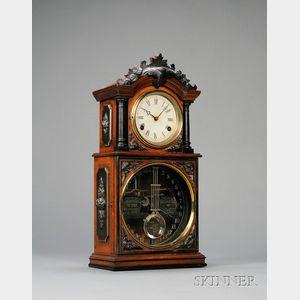 No. 3 1/2 Calendar Clock by Ithaca Calendar Clock Company
