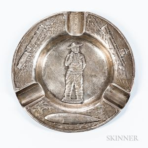 Gorham Sterling Silver Cigar Tray